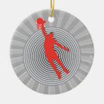gráfico fresco del espiral de la clavada del balon ornamento para reyes magos