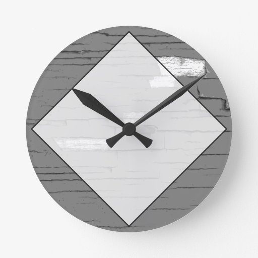 Gráfico gris del arte de Digitaces. Imagen de la p Relojes De Pared