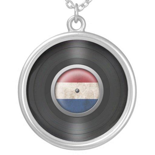 Gráfico holandés del álbum de disco de vinilo de l joyeria