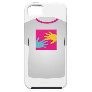 Gráfico imprimible del arte pop de la camiseta funda para iPhone 5 tough
