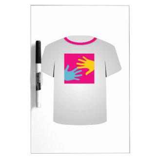 Gráfico imprimible del arte pop de la camiseta pizarras
