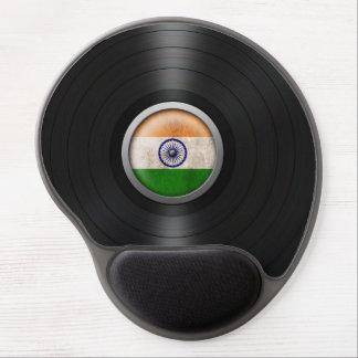 Gráfico indio del álbum de disco de vinilo de la b alfombrilla de raton con gel