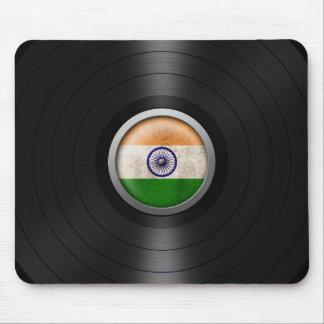 Gráfico indio del álbum de disco de vinilo de la b tapetes de raton