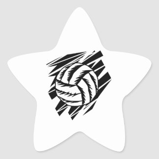 gráfico intrépido del voleibol colcomania cuadrada
