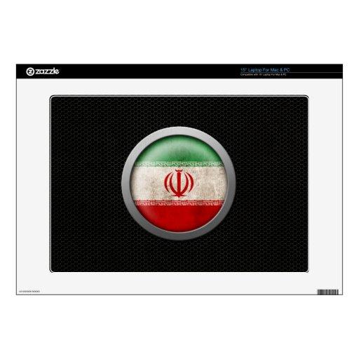 Gráfico iraní del disco de la bandera de la malla  skins para 38,1cm portátil