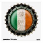 Gráfico irlandés de acero industrial del disco de