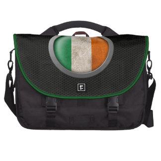 Gráfico irlandés del disco de la bandera de la mal bolsas de ordenador