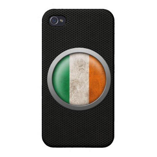 Gráfico irlandés del disco de la bandera de la mal iPhone 4 protector
