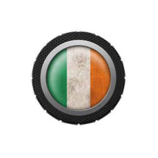 Gráfico irlandés del disco de la bandera de la mal jarrones de caramelos
