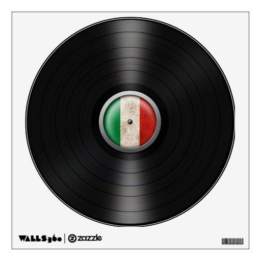 Gráfico italiano del álbum de disco de vinilo de l