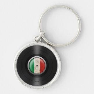 Gráfico italiano del álbum de disco de vinilo de l llavero