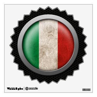 Gráfico italiano del disco de la bandera de la mal vinilo decorativo