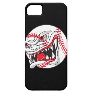 gráfico malo enojado del béisbol funda para iPhone SE/5/5s