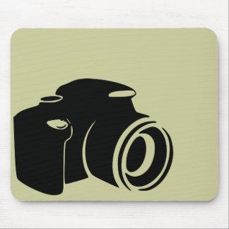 Gráfico moderno del icono de la fan de la fotograf alfombrillas de raton