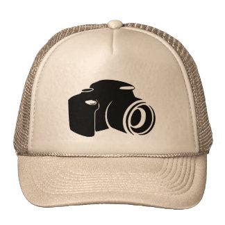 Gráfico moderno del icono de la fan de la fotograf gorros