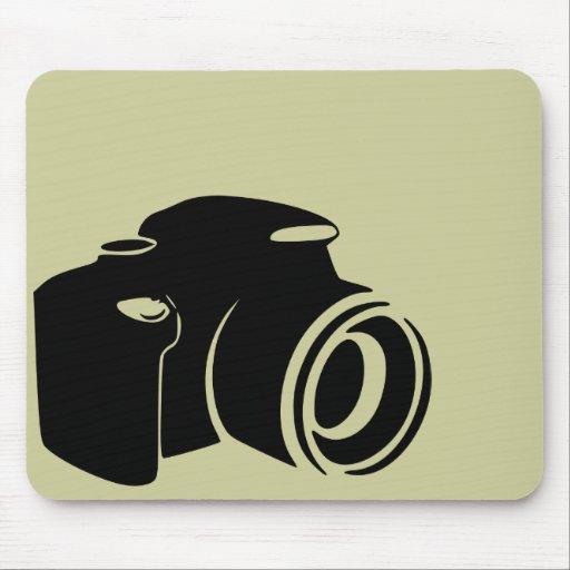 Gráfico moderno del icono de la fan de la fotograf tapete de raton