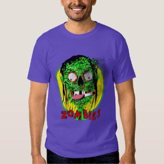 Gráfico muerto del zombi de la apocalipsis que camisas