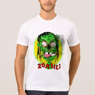Gráfico muerto del zombi de la apocalipsis que playeras
