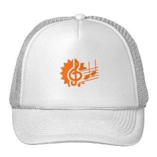 gráfico orange.png del personal de las notas del c gorra