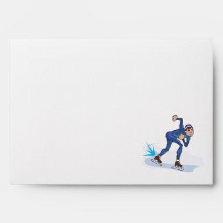 gráfico patinador del patinador de la velocidad