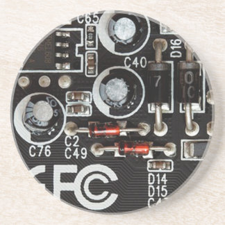 Gráfico peculiar de la placa de circuito de los posavasos personalizados