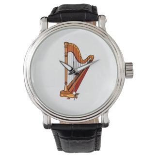gráfico pedal.png de la arpa relojes de pulsera