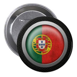Gráfico portugués del disco de la bandera de la ma pins