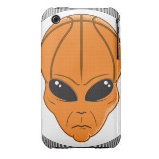 gráfico principal extranjero del baloncesto funda bareyly there para iPhone 3 de Case-Mate