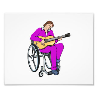 gráfico purple.png de la silla de ruedas del guita fotografia