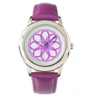 Gráfico púrpura de Guillouche Reloj