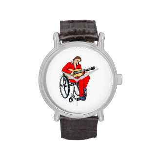 gráfico red.png de la silla de ruedas del relojes de pulsera