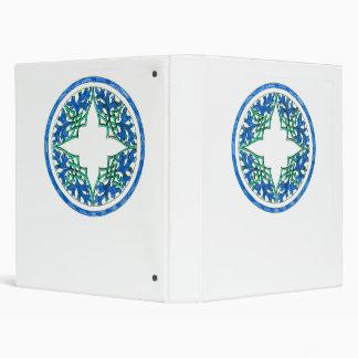 gráfico redondo del victorian azul y verde