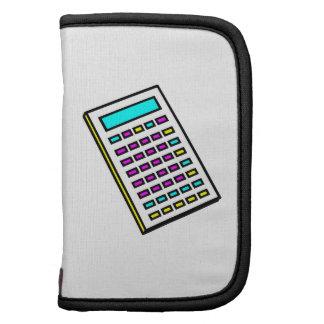 Gráfico retro de la calculadora de CMYK Organizadores