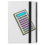 Gráfico retro de la calculadora de CMYK iPad Mini Cárcasa