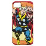 Gráfico retro del carácter del Thor iPhone 5 Carcasa