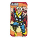 Gráfico retro del carácter del Thor Funda Para iPhone 6 Barely There