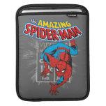 Gráfico retro del precio de Spider-Man Funda Para iPads