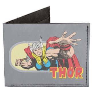 Gráfico retro del Thor Billeteras Tyvek®