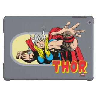Gráfico retro del Thor Funda iPad Air
