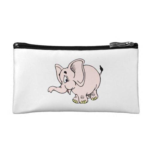 Gráfico rosado del elefante del bebé