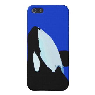 gráfico subacuático de la orca de la orca iPhone 5 fundas