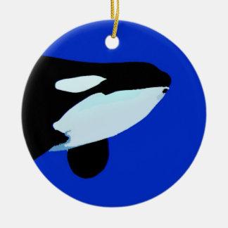 gráfico subacuático de la orca de la orca ornatos