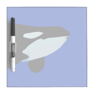 gráfico subacuático de la orca de la orca tableros blancos