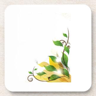 gráfico sucio corner.png de las hojas apoyavasos
