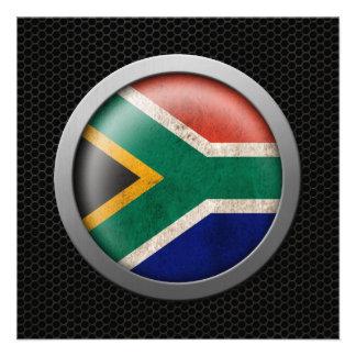 Gráfico surafricano del disco de la bandera de la invitaciones personales