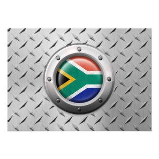 Gráfico surafricano industrial del acero de la ban comunicado personalizado