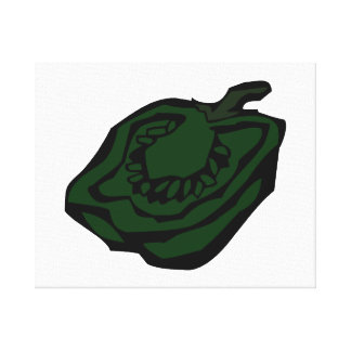 Gráfico verde abstract.png de la pimienta medio impresión en lona