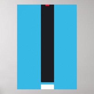 Gráficos abstractos poster