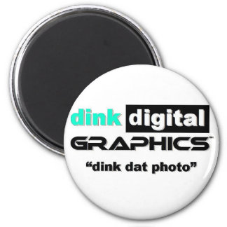 Gráficos de Dink Digital Imán Redondo 5 Cm