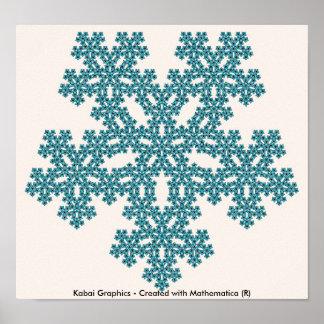 Gráficos de Kabai - creados con Mathematica (r) Póster